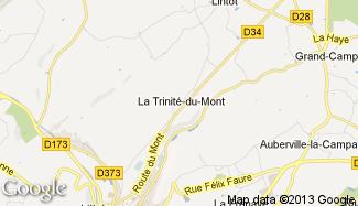 Plan de La Trinité-du-Mont