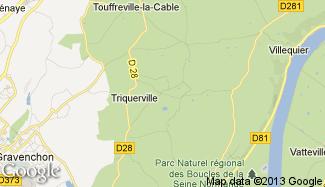 Plan de Triquerville
