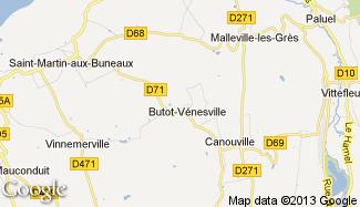Plan de Butot-Vénesville