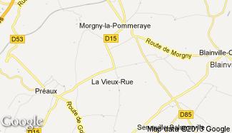 Plan de La Vieux-Rue