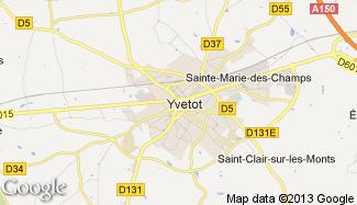 Plan de Yvetot