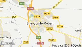 Plan de Brie-Comte-Robert
