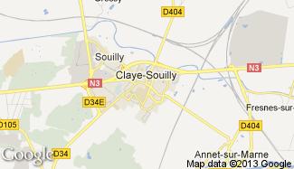 Plan de Claye-Souilly