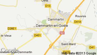 Plan de Dammartin-en-Goële