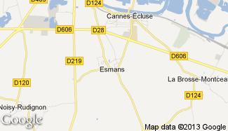Plan de Esmans