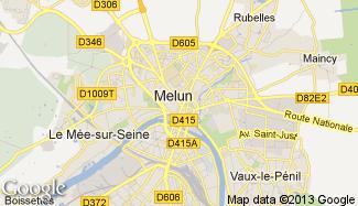 Plan de Melun