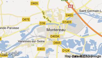 Plan de Montereau-Fault-Yonne