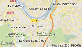 Plan de Bougival