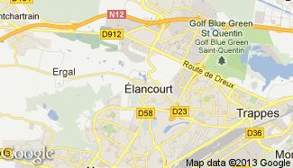Plan de Élancourt