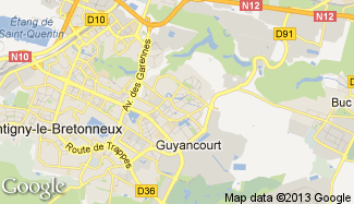 Plan de Guyancourt