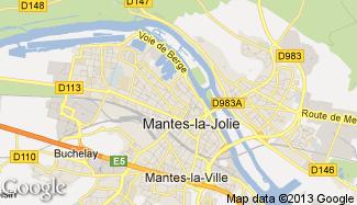 Plan de Mantes-la-Jolie
