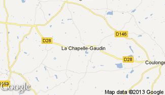 Plan de La Chapelle-Gaudin