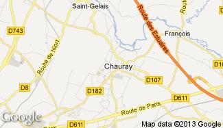Plan de Chauray