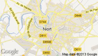 Plan de Niort