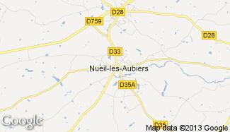 Plan de Nueil-les-Aubiers