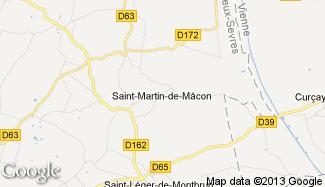 Plan de Saint-Martin-de-Mâcon