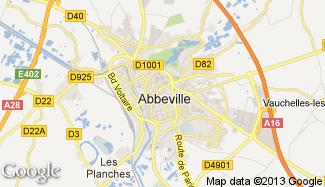 Plan de Abbeville
