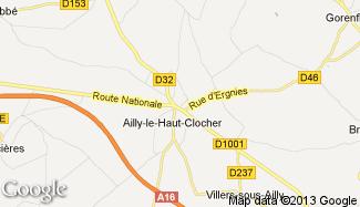 Plan de Ailly-le-Haut-Clocher