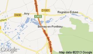 Plan de Bernay-en-Ponthieu