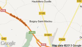 Plan de Buigny-Saint-Maclou