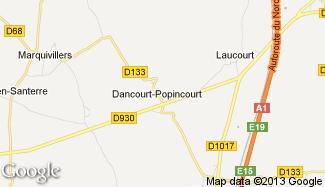 Plan de Dancourt-Popincourt