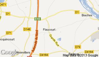 Plan de Flaucourt