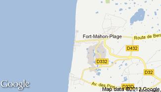 Plan de Fort-Mahon-Plage