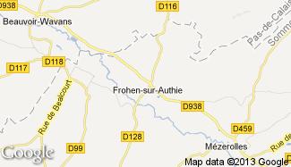 Plan de Frohen-sur-Authie