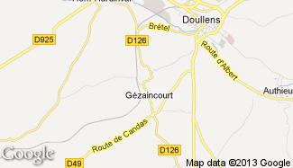 Plan de Gézaincourt