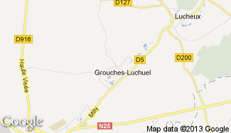 Plan de Grouches-Luchuel