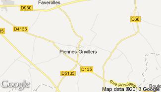 Plan de Piennes-Onvillers