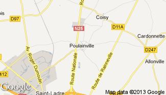Plan de Poulainville