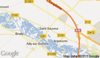Plan de Saint-Sauveur
