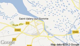 Plan de Saint-Valery-sur-Somme