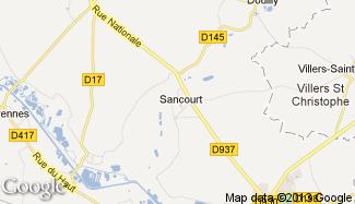 Plan de Sancourt
