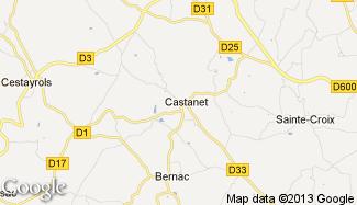 Plan de Castanet
