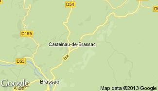 Plan de Castelnau-de-Brassac