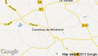 Plan de Castelnau-de-Montmiral