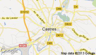 Plan de Castres