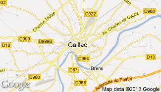 Plan de Gaillac