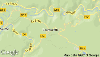 Plan de Lacrouzette