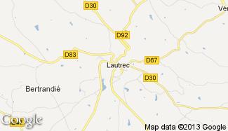 Plan de Lautrec