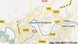 Plan de Lescure-d'Albigeois