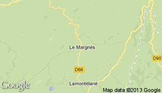 Plan de Le Margnès