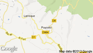 Plan de Puycelci