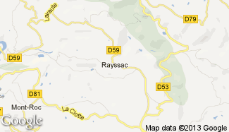 Plan de Rayssac