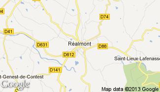Plan de Réalmont