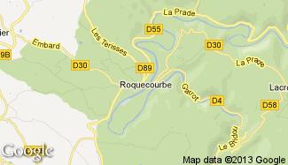 Plan de Roquecourbe