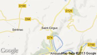 Plan de Saint-Cirgue