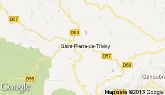 Plan de Saint-Pierre-de-Trivisy